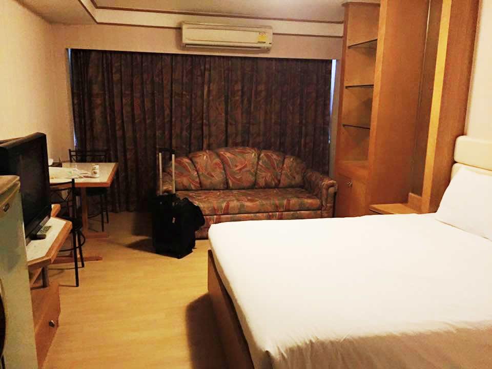バンコクで1泊したホテル
