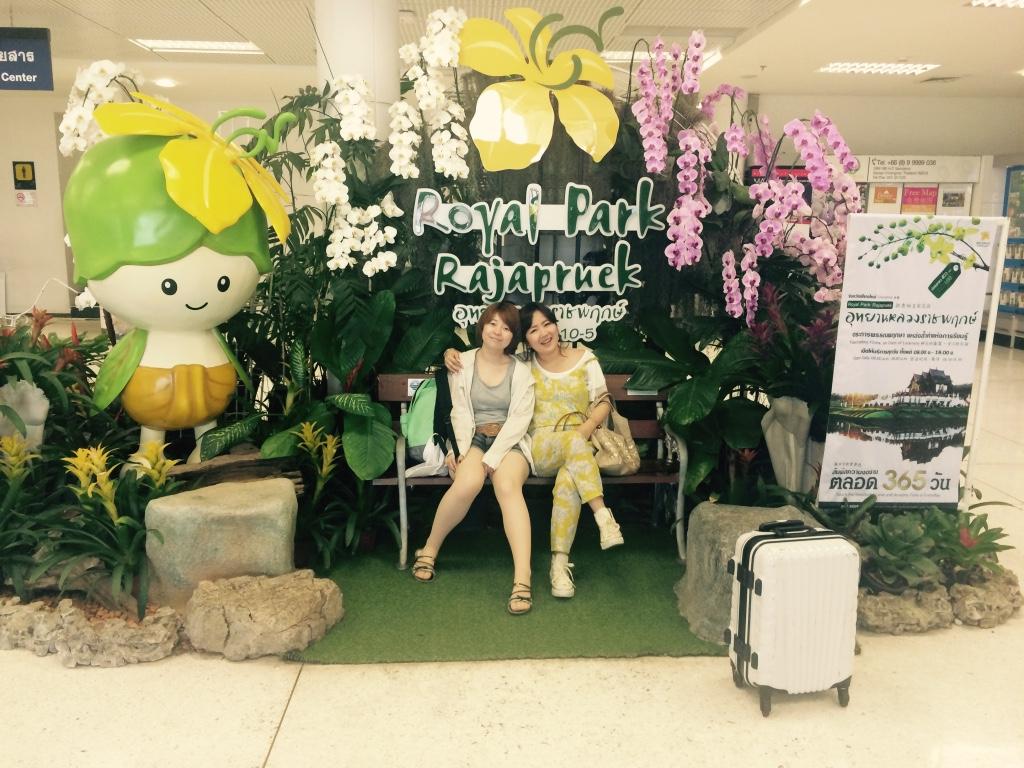 チェンマイで観光客ごっこ