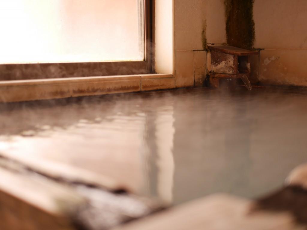 貸切風呂の浴室