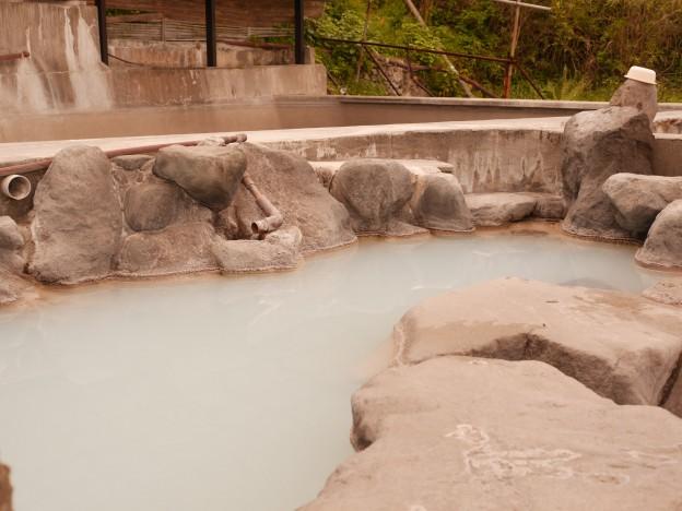 コバルトブルーの温泉、いちのいで会館