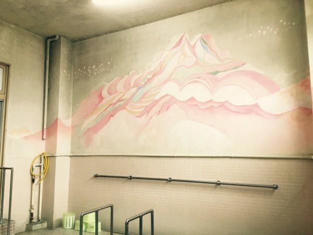 末広温泉 浴室壁画